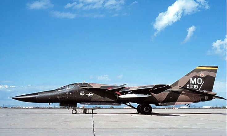 A General Dynamics F-111A Aardvark from the 336th TFW Mountain Home AFB.