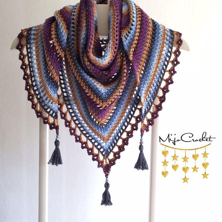 Taiga Shawl By Johanna Lindahl - Free Crochet Pattern - (ravelry)