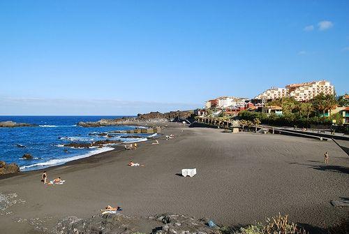 Playa de Los Cancajos, La Palma. Islas Canarias