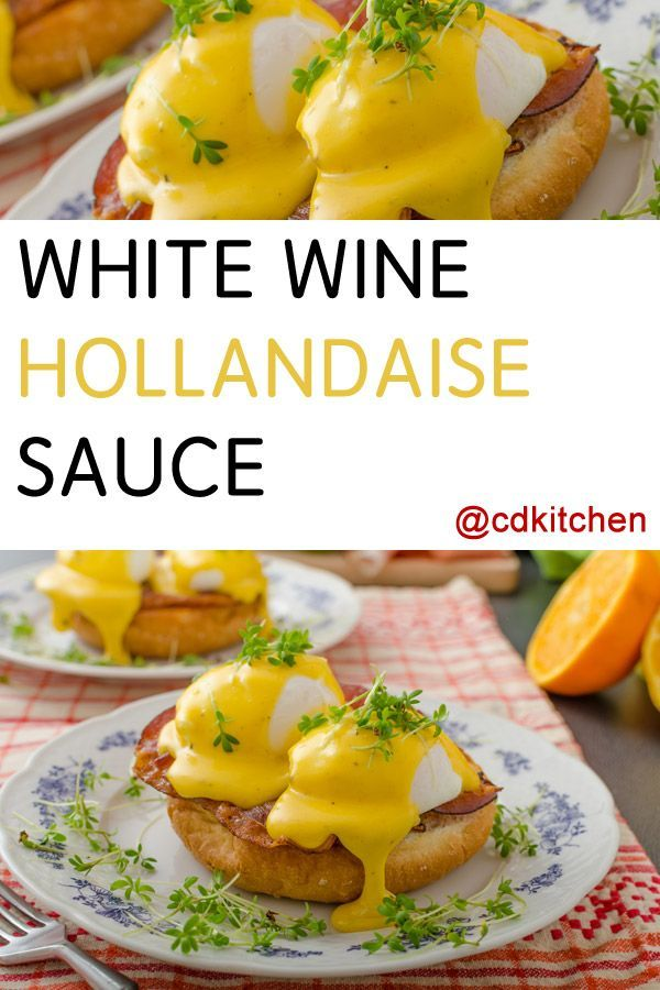 Made with egg yolks, lemon juice, white cooking wine, butter | CDKitchen.com