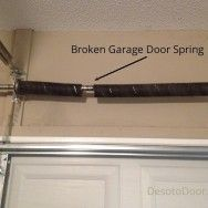 Broken Garage Door Spring Repair. We've repaired every type of garage door, and garage door opener. Our 24 x 7 service excellence is there for you when you really need us. Our repair service includes your annual All-Point Safety Inspection. We also replace damaged springs, drums, and rollers, replace broken or damaged panels, and repair door openers and receivers. http://garagedoor4less.com/garage-door-repair.html