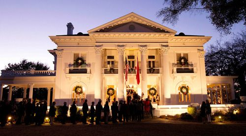 Governor's Mansion Christmas Open House Tours 2015 #AlabamaFestivals