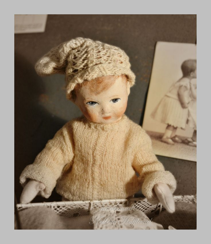 Een jongenspopje van stof  door Nelleke Hoffland