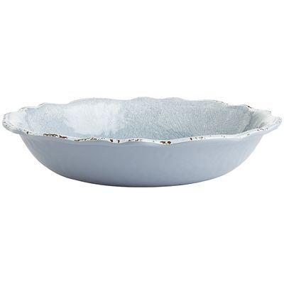 Our gray serving bowl can make a statement without shouting. It's a neutral that works well with black, white or your favorite bold color. Crafted in the style of hand-thrown Italian stoneware, our  Carmelo Collection is deceptively lightweight. It's made from melamine, so it's easy to handle and care for. Set it out for an outdoor party, indoor dinners or everyday use. However you use it, this collection will give you something to shout about.