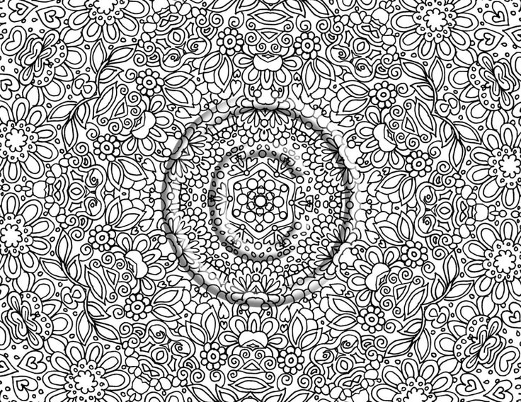 10 best Coloring Pages images on Pinterest Drawings Adult