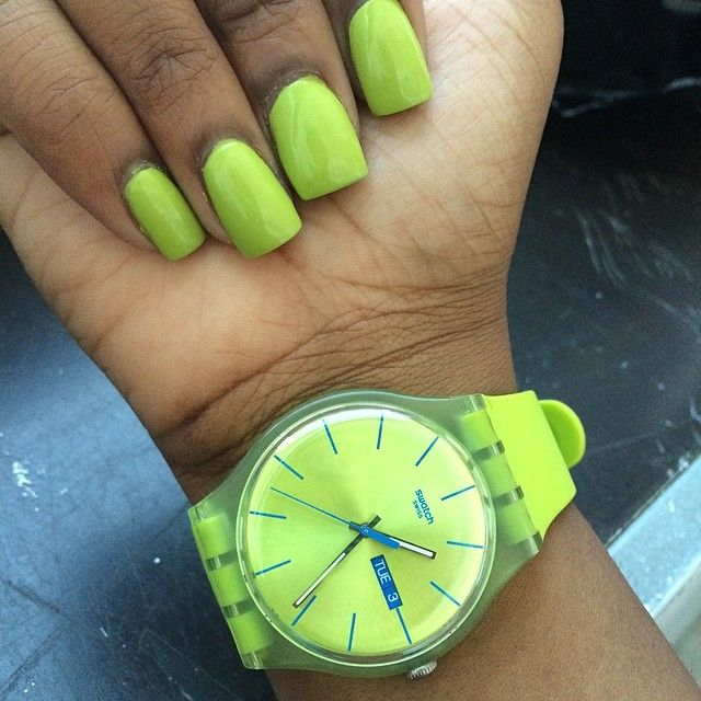 #Swatch: Watches Republic, Rebel Limerebel