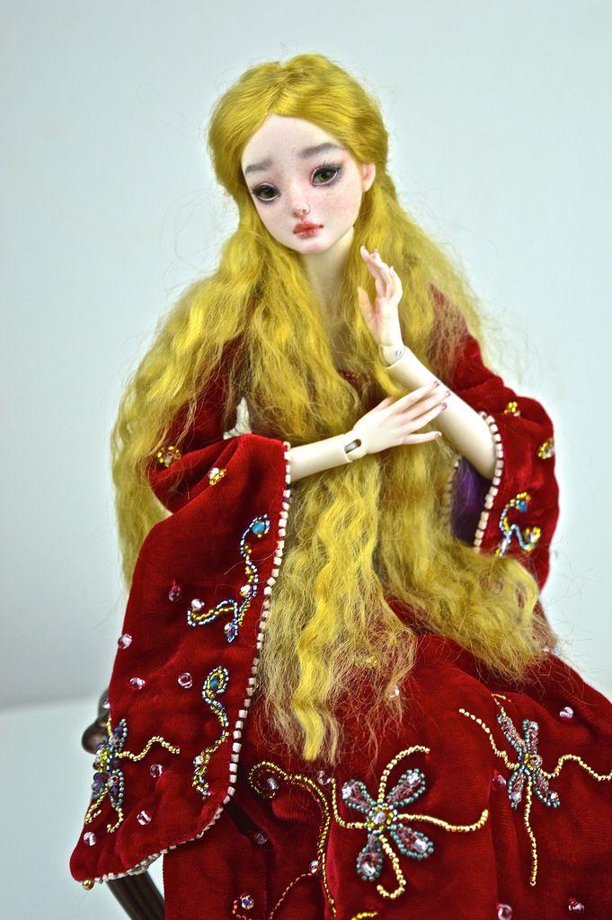 Felicia, Enchanted Doll by Marina Bychkova | Flickr - Photo Sharing!
