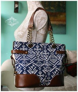 Novice Beginnings: A NEW BAG PATTERN!!