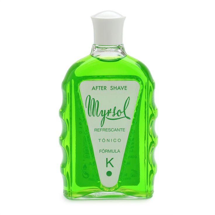 "Myrsol: Fórmula ""K"" Aftershave Lotion"