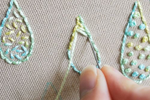 Another great instructional blog site on embroidery