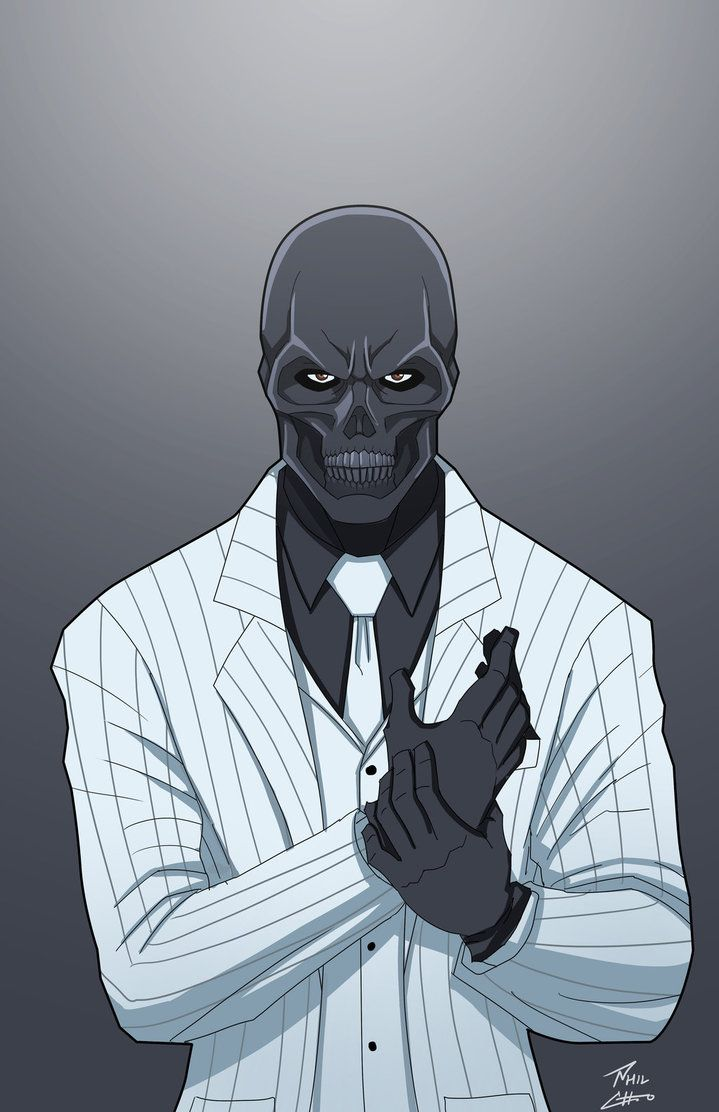 Marvel Comics Black Mask by phil-cho on DeviantArt. For similar content follow me @jpsunshine10041