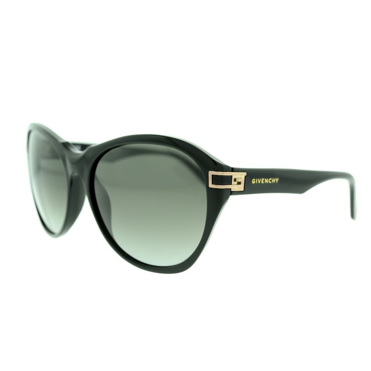 Givenchy SGV925 700X Black Oversize Plastic Frame Women's Sunglasses
