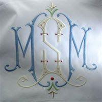 Hayden Avery Fine Stationery: Custom Monograms by Caroline Brackenridge