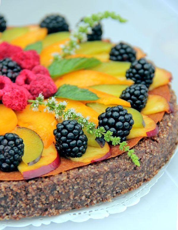 Gitta nyersétel blogja: Születésnapi torta
