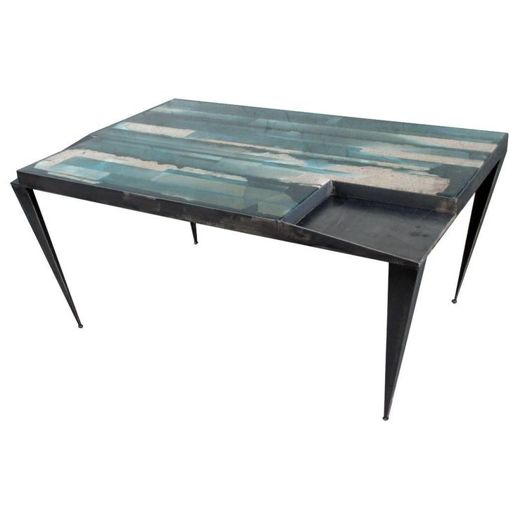 One of a Kind Coffee Table Artwork By Viktor Mtz | From a unique collection of antique and modern coffee and cocktail tables at https://www.1stdibs.com/furniture/tables/coffee-tables-cocktail-tables/