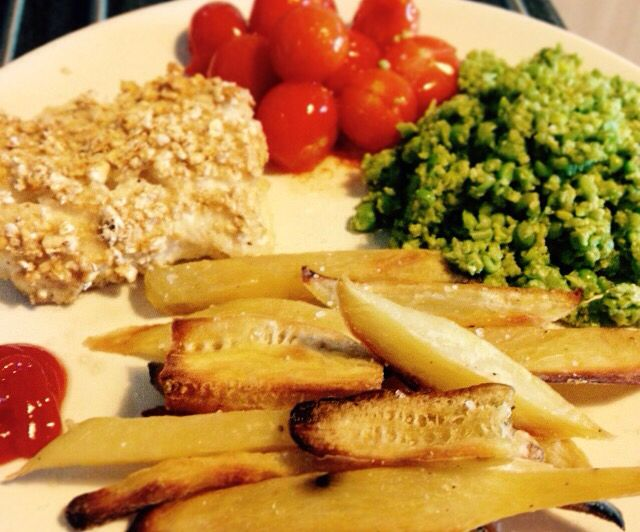 Fish, chips and mushy peas - 90 daysss plan - The Body Coach - Cycle 2