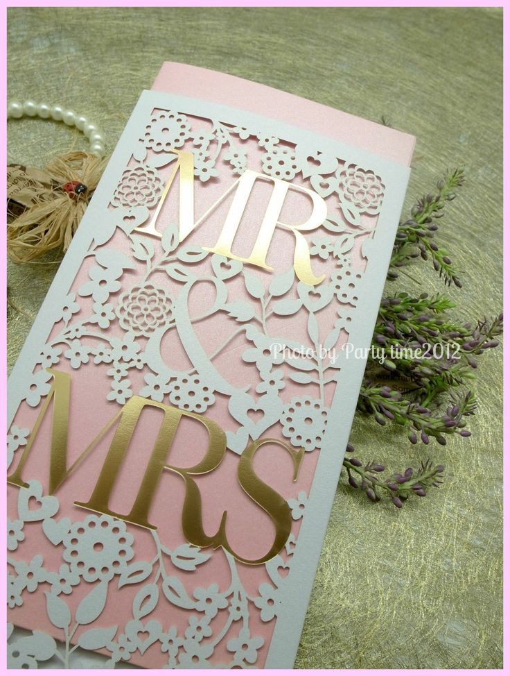 389 best LASER CUT INVITATIONS.... GOT TO DO THIS!! images on ...