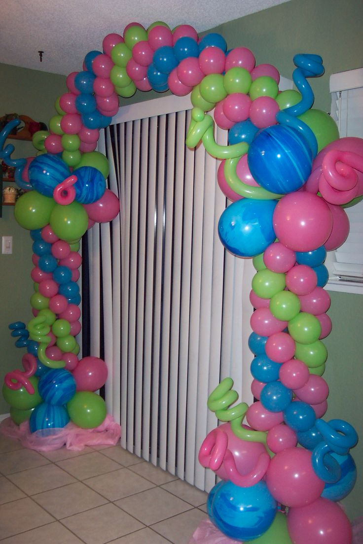 395 best a r c h e s images on pinterest balloon for Arch balloon decoration
