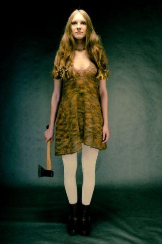 mohair and silk dress