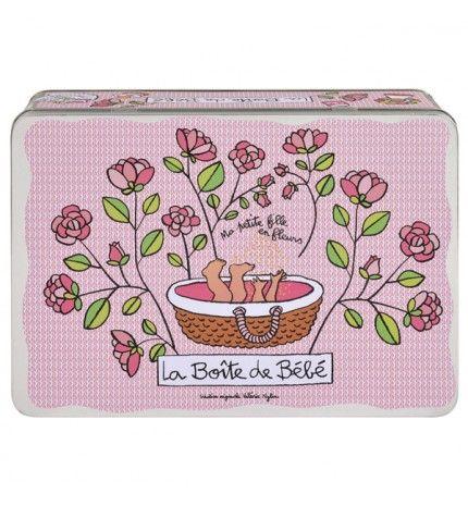 """La Boite de Bébé """"Ma petite fille en fleurs"""""""