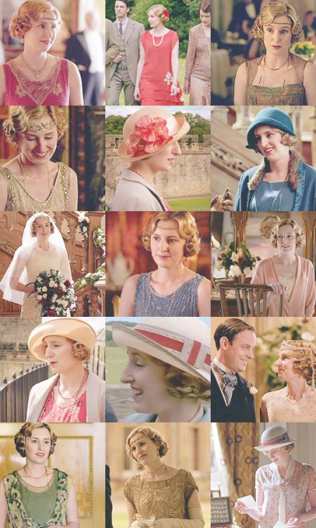 Downton Obsession ...Lady Edith, endings ..