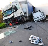 Goldberg & Osborne   Phoenix, AZ Truck Accident Lawyers    Although truck accidents in Phoenix do not occur as often as car accidents, they tend to be more serious because of the size and weight of the vehicles involved. A truck weighing more than 10,000 pounds is considered a large truck according to law, and some can weigh as much as 80,000 pounds, compared to the average car weight of 3,000 pounds.