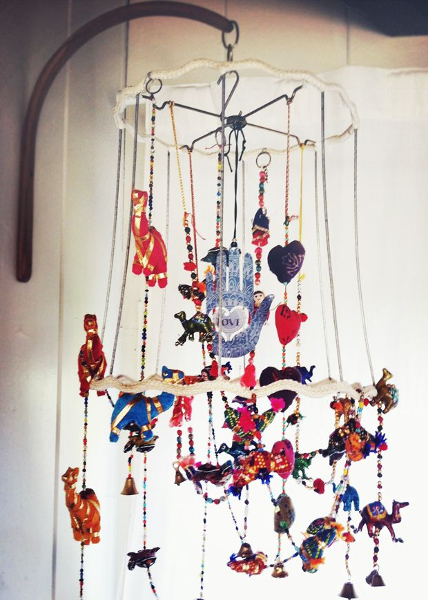 Boho+Craft+Ideas | Justina Blakeney: DIY Boho Mobile for Boomba | Craft Ideas