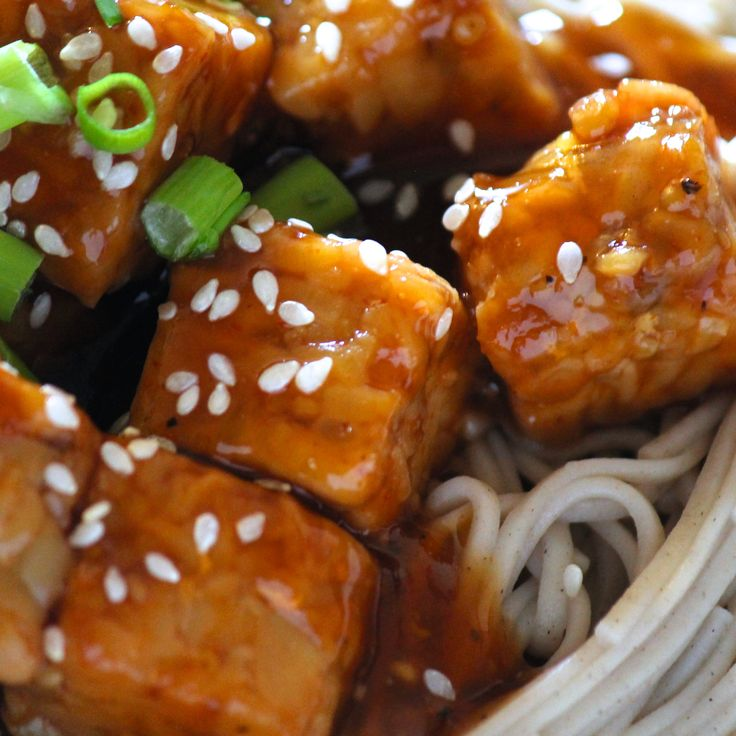 Vegan Asian Orange Tempeh | http://zachspuckler.com/vegan-asian-orange-tempeh/