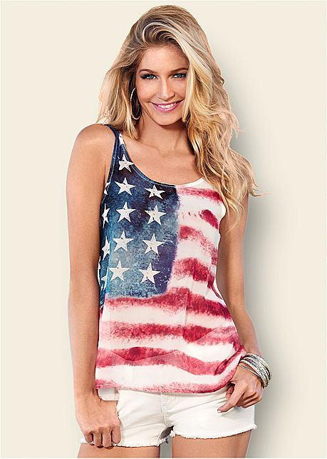American Flag Tank | VENUS