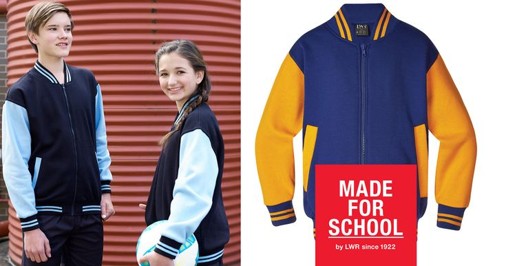 Looking cool and being warm has never been easier with our Bannerman Zip Baseball Jacket.  It's at home on the field, playground and home.