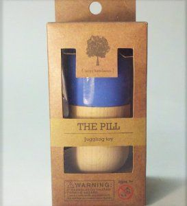 Amazon.com: The Pill by Terra Kendama - Kendama USA - Blue: Toys & Games