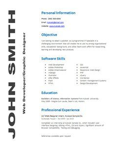 Awesome Guerrilla Resume Template