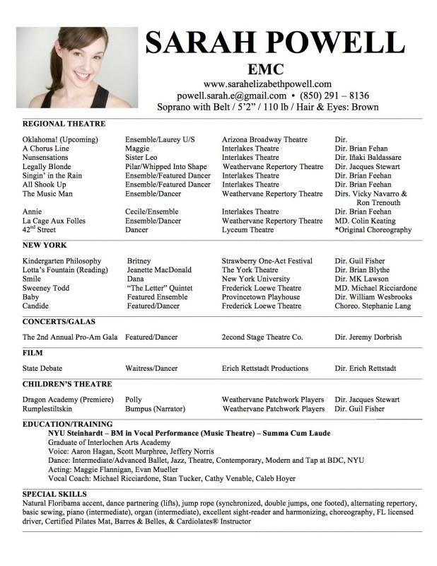 Dance Resume Can Be Used For Both Novice And Professional Dancer Most Job Of Dancer Has Minimum Requirements That Not All O Dance Resume Resume Teacher Resume