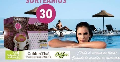 Sorteo Café Golden Thai y DC Pharm https://www.facebook.com/goldenthaicoffee?ref=hl