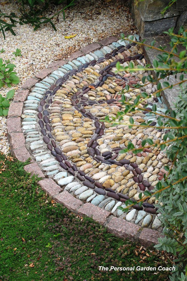Mozaiek voor in de tuin