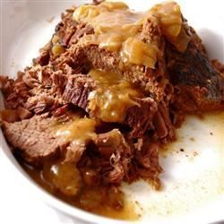 Bottom Round Roast with Onion Gravy - Allrecipes.com