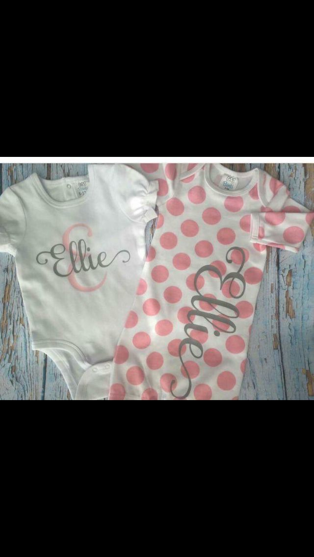 11 best baby onesies images on pinterest silhouette cameo baby baby gift negle Images