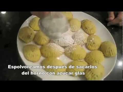 Maamul (galletas- cookies معمول).wmv - YouTube