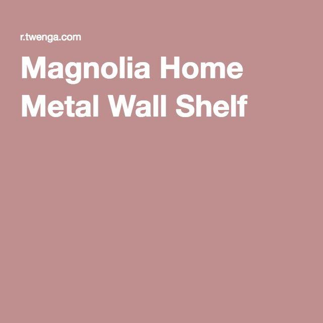 Magnolia Home Metal Wall Shelf