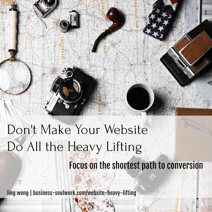 Your website copy doesn't need to be perfect… it doesn't have to express every facet of your magic.  What you need is an aligned intention so you can put the right energy behind your words.  The right question to ask is — what's the shortest path to getting people to trust me and resonate with me enough to have a conversation with me, experience the connection, and get a taste of the transformation?  Your website's job is to take people down that path. The rest is just distraction…