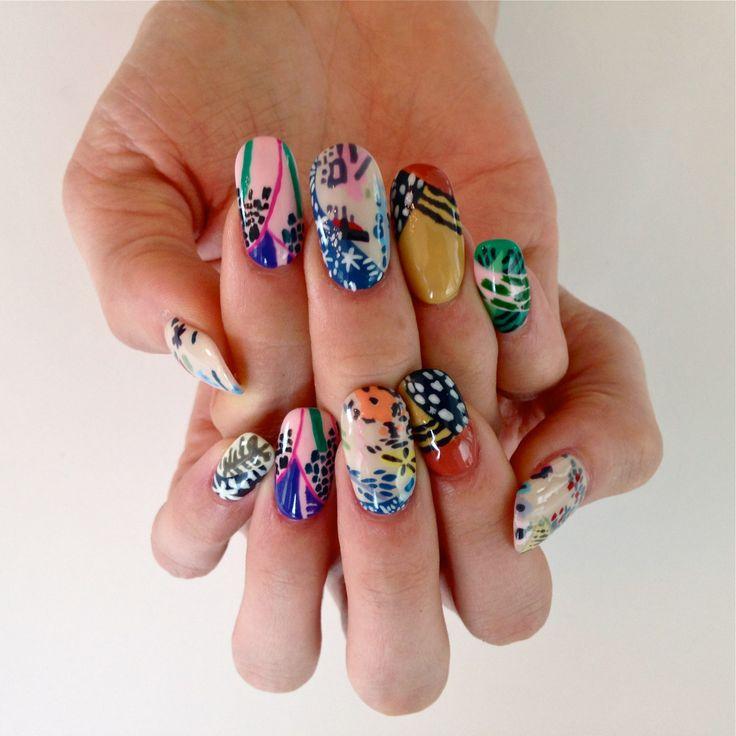 Best 75+ Sartle: Art History Nail Art images on Pinterest   Nail ...