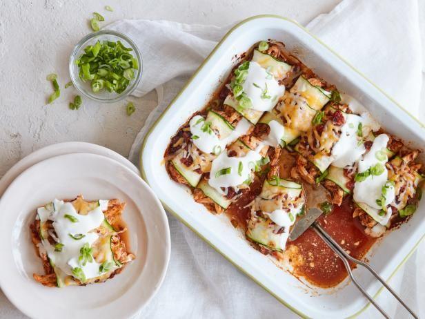 Get Zucchini Enchiladas Recipe from Food Network