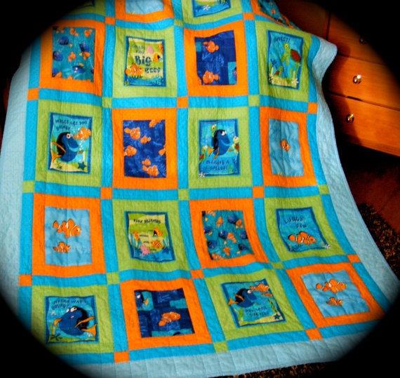 33 best Classic Disney characters images on Pinterest | Baby ... : nemo quilt - Adamdwight.com