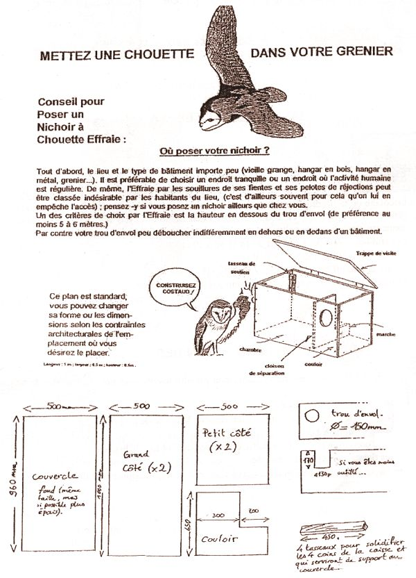 les 65 meilleures images du tableau nichoirs pour chouettes sur pinterest nichoirs chouettes. Black Bedroom Furniture Sets. Home Design Ideas