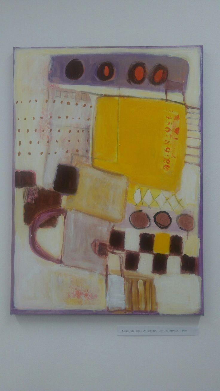 #malgorzata #kobus #painting#abstract #atlantide