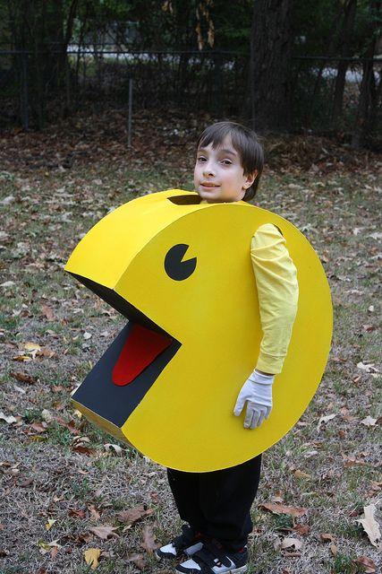 Pacman costume.