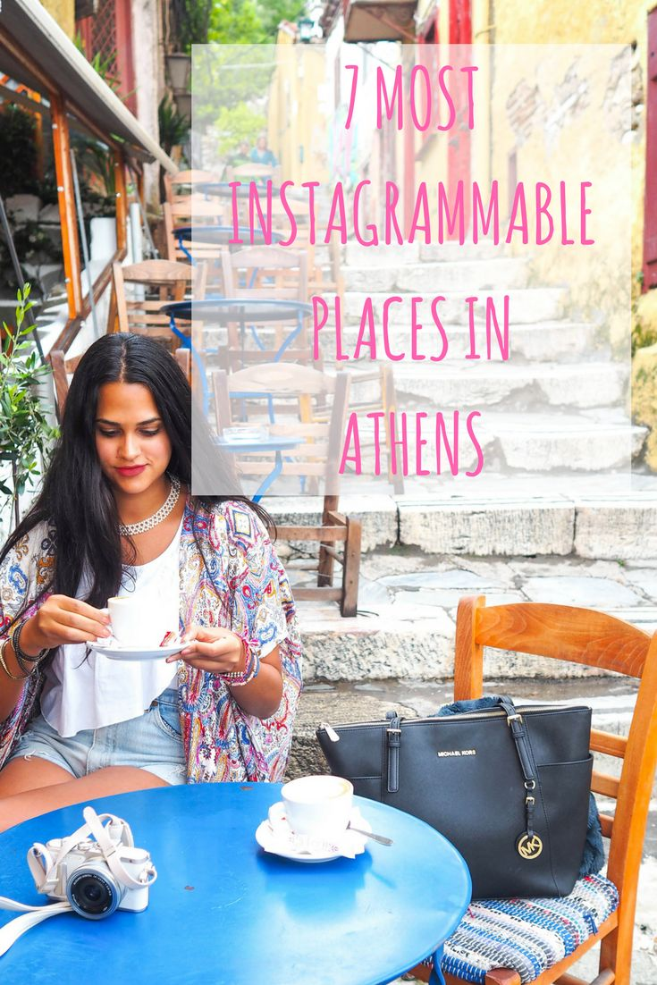 Athen's most stylish places and hidden gems. Perfect to create a successful instagram feed <3 by insta: @thefashionmatters