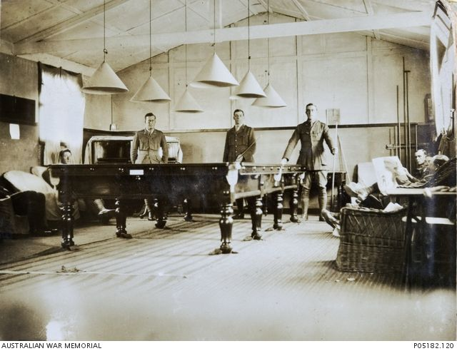 Officers Mess   Lark Hill - May 1917