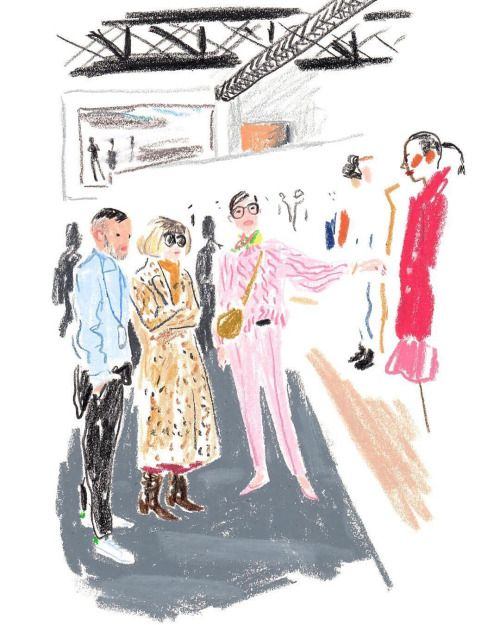 I LOVE ILLUSTRATION /// illustration inspiration: Damien Florébert Cuypers x Paris Fashion week for T magazine