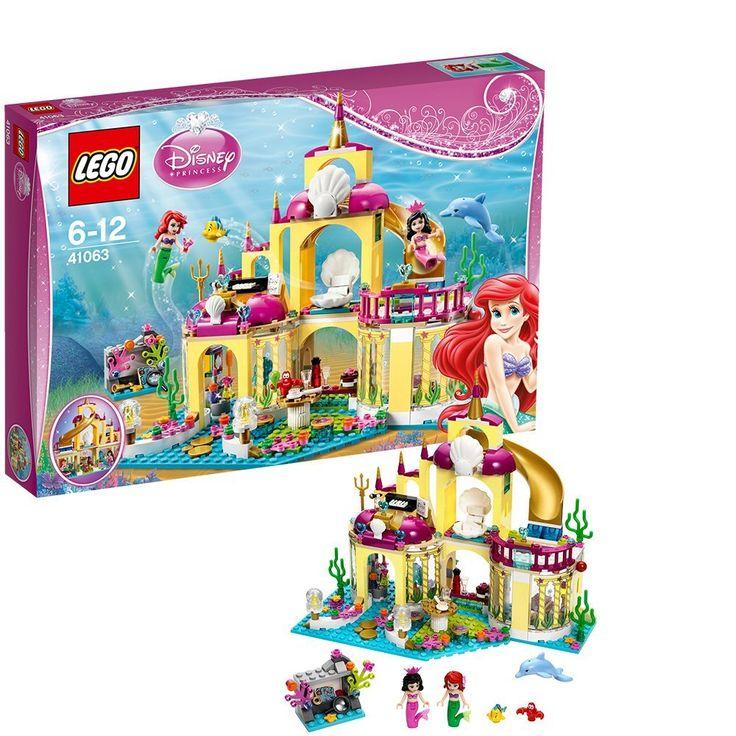 Lego Disney Princess: Ariel's Undersea Palace (41063)  Manufacturer: LEGO Enarxis Code: 014720 #toys #Lego #Disney #Ariel